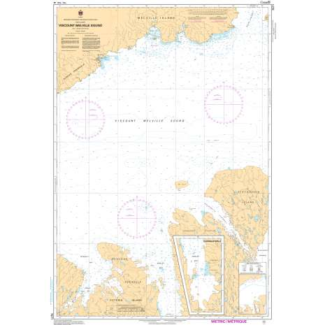 Central and Arctic Region Charts :CHS Chart 7571: Viscount Melville Sound