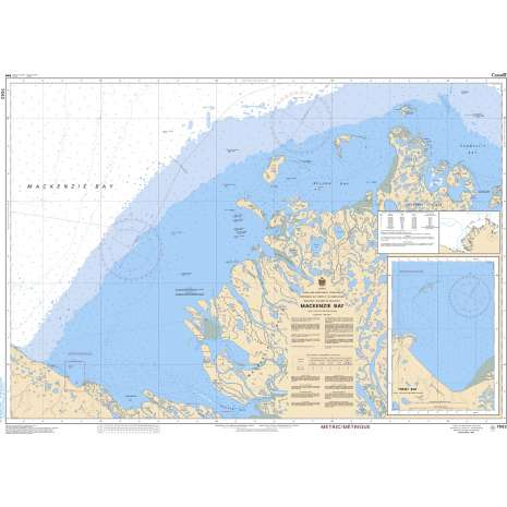 Central and Arctic Region Charts :CHS Chart 7662: Mackenzie Bay