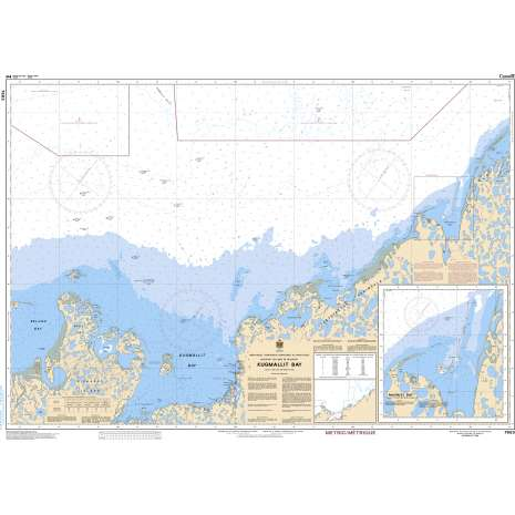 Central and Arctic Region Charts :CHS Chart 7663: Kugmallit Bay