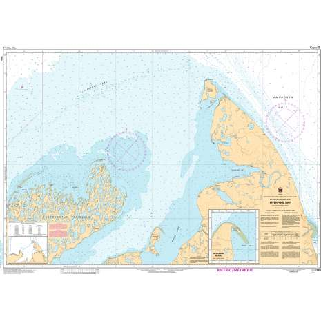 Central and Arctic Region Charts :CHS Chart 7664: Liverpool Bay