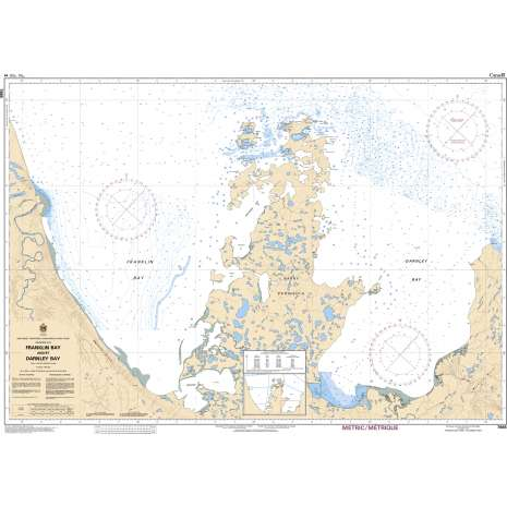 Central and Arctic Region Charts :CHS Chart 7665: Franklin Bay and/et Darnley Bay
