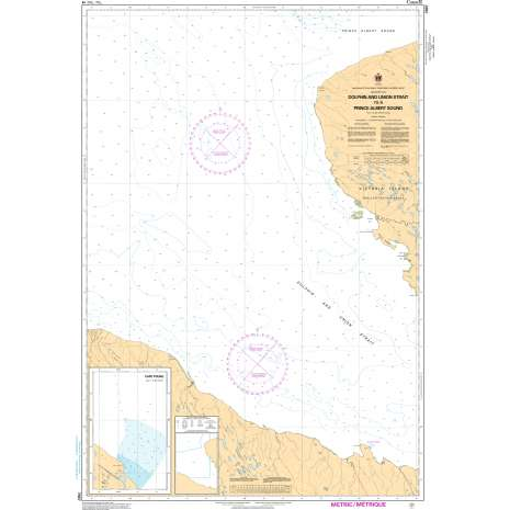 Central and Arctic Region Charts :CHS Chart 7667: Dolphin and Union Strait To/ A Prince Albert Sound
