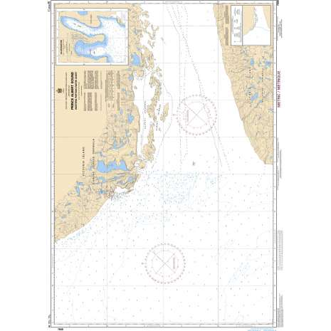 Central and Arctic Region Charts :CHS Chart 7668: Prince Albert Sound, Western Portion/ Partie Ouest