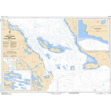Central and Arctic Region Charts :CHS Chart 7710: Lambert Channel and/et Cache Point Channel