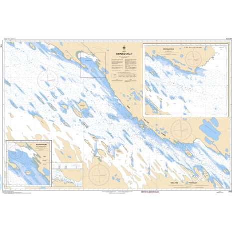 Central and Arctic Region Charts :CHS Chart 7736: Simpson Strait