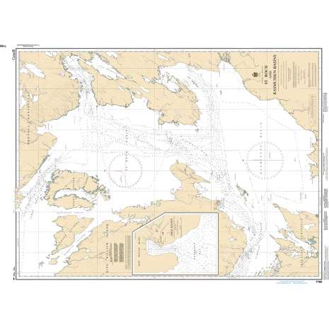 Central and Arctic Region Charts :CHS Chart 7760: St. Roch and/et Rasmussen Basins