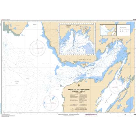 Central and Arctic Region Charts :CHS Chart 7770: Spence Bay and Approaches