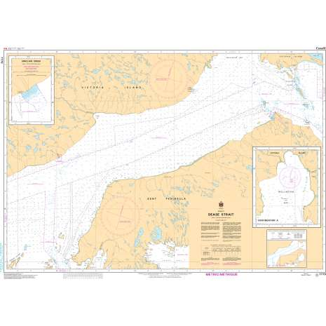 Central and Arctic Region Charts :CHS Chart 7779: Dease Strait