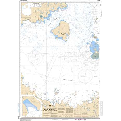Central and Arctic Region Charts :CHS Chart 7783: Queen Maud Gulf Eastern Portion/Partie est