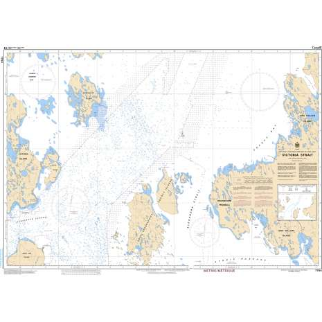 Central and Arctic Region Charts :CHS Chart 7784: Victoria Strait