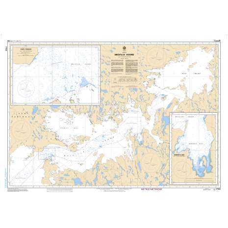 Central and Arctic Region Charts :CHS Chart 7790: Melville Sound