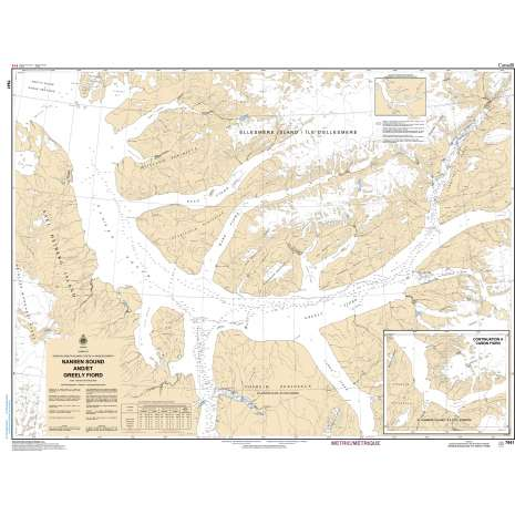 Central and Arctic Region Charts :CHS Chart 7941: Nansen Sound and Greely Fiord