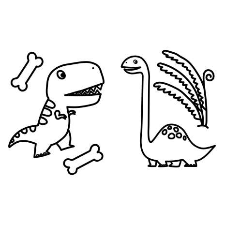 Coloring Books :My First Big Book of Dinosaurs