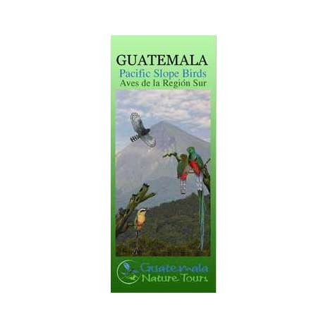 Bird Identification Guides :Guatemala Pacific Slope Birds (Laminated 2-Sided Card)
