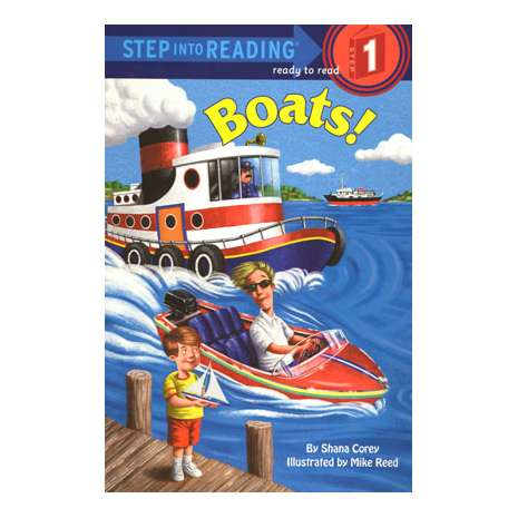 Young Readers :Boats: Step into Reading