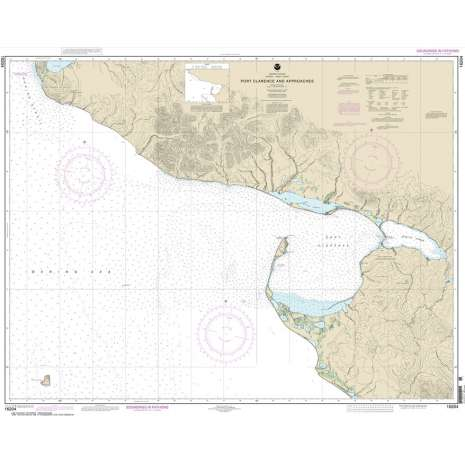 Alaska Charts :NOAA Chart 16204: Port Clarence and approaches