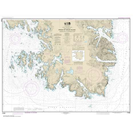 Alaska Charts :NOAA Chart 17433: Kendrick Bay to SHipwreck Point: Prince of Wales Island