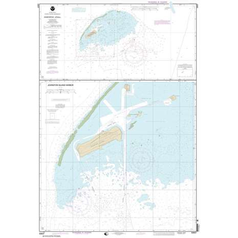 Pacific Coast Charts :NOAA Chart 83637: Johnston Atoll;Johnston Island Harbor