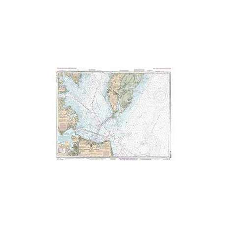Training Charts :NOAA Training Chart 12221 TR: Chesapeake Bay Entrance