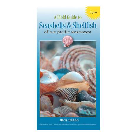 Beachcombing & Seashore Field Guides :A Field Guide to Seashells & Shellfish of the Pacific Northwest (Folding Pocket Guide)