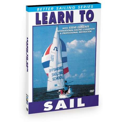 ON SALE Nautical Related :Learn to Sail with Steve Colgate (DVD)