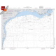 "Miscellaneous International :NGA Chart 11004: Mississippi River To Rio Grande, Approx. Size 21"" x 27"" (SMALL FORMAT WATERPROOF)"