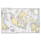 Placemat Charts, Placemat of San Juan Islands and Victoria, BC