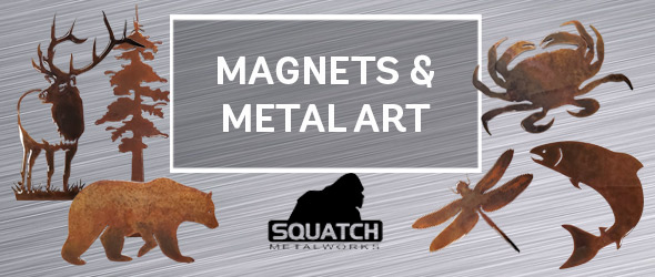 Magnets and Metal Art