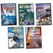 Lin & Larry Pardey Books & DVD's :All 5 Pardey Videos (DVD Set)