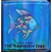 Books for Aquarium Gift Shops :The Rainbow Fish Bath Book