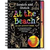 Drawing Books :Scratch and Sketch: At The Beach