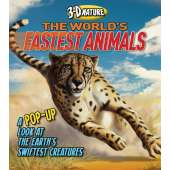 Pop-Up Books :3-D Nature: The World's Fastest Animals