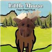 Board Books :Little Moose: Finger Puppet Book
