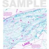 Fish-n-Map: Columbia River, Upper: McNary Dam to Bonneville Dam
