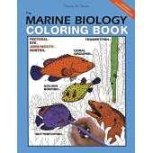Ocean & Seashore :The Marine Biology Coloring Book, 2nd Edition