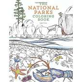 Coloring Books :The National Parks Coloring Book