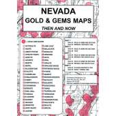 Historical Site and Related Guides :Nevada Gold and Gems Map, Then and Now