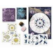 New Age & Spirituality :Practical Magic KIT: Includes Rose Quartz and Tiger's Eye Crystals, 3 Sheets of Metallic Tattoos, and More!