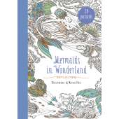 Postcards & Stationary :Mermaids in Wonderland 20 Postcards: An Interactive Coloring Adventure for All Ages