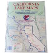Fishing :Fish-n-Map: CALIFORNIA LAKE MAPS