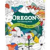Coloring Books :Oregon the Coloring Book