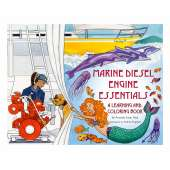 Coloring Books :Marine Diesel Engine Essentials: A Learning and Coloring Book