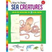 Activity Books: Aquarium :How to Draw Sea Creatures: Step-by-step instructions for 20 ocean animals