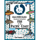 Activity Books: Aquarium :Fish of the Pacific Coast Educational Coloring Book