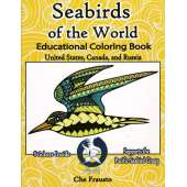 Birds :Seabirds of the World Educational Coloring Book
