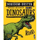 Activity Books: Dinos :Boredom-Buster Puzzle Activity Book of Dinosaurs