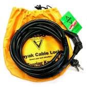 Lasso Locks :Lasso Kong Cable Kayak Lock for Closed Deck Touring Kayaks