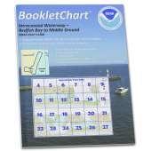 Gulf Coast Charts :NOAA BookletChart 11308: Intracoastal Waterway Redfish Bay to Middle Ground
