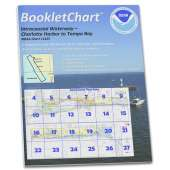 Gulf Coast Charts :NOAA BookletChart 11425: Intracoastal Waterway Charlotte Harbor to Tampa Bay