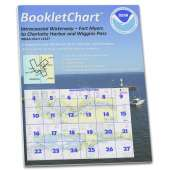 Gulf Coast Charts :NOAA BookletChart 11427: Intracoastal Waterway Fort Myers to Charlotte Harbor and Wiggins Pass